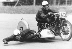 This appeared here years ago. Pillion racing. : motorcycles