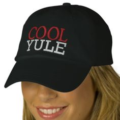 Cool Yule Cap by SRF Embroidered Hat