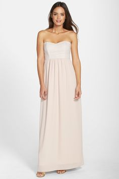 'Breanna' Lace Bodice Crepe Gown by Paper Crown on @nordstrom_rack
