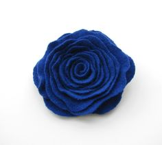 Hey, I found this really awesome Etsy listing at https://www.etsy.com/listing/190707384/cashmere-felted-wool-rose-brooch-cobalt