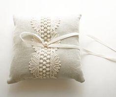 Wedding Accessories / DIY Really Need a Ring Pillow - WeddinGirl