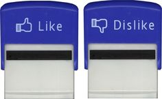 Like & Dislike Stamps - Like Stamp - Business Stamps Business Stamps, Likes And Dislikes, Office Gadgets, Facebook Likes, Back To School Gifts, Self Inking Stamps, Office Accessories, Cool Gadgets, Cheap Gadgets