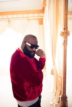 Rick Ross wearing 9Five eyewear. #9five #eyewear #sunglasses #rickross #thecoveteur