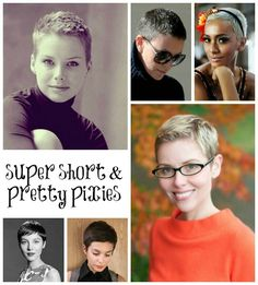 A BEAUTIFUL LITTLE LIFE: Super Short & Pretty Pixie Cuts!
