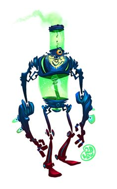 Robot by Brett2DBean.deviantart.com on @deviantART