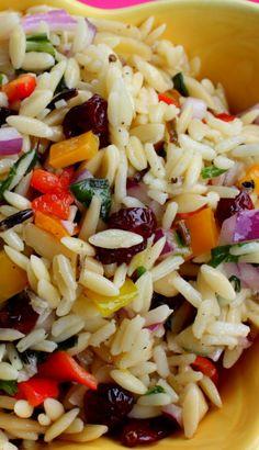 Orzo Vegetable Confetti Salad