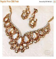 Hey, I found this really awesome Etsy listing at https://www.etsy.com/listing/232431637/wedding-jewelry-set-bridal-back-drop-bib