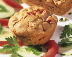 Kichererbsen-Muffins | Zeit: 50 Min. | http://eatsmarter.de/rezepte/kichererbsen-muffins