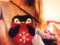 Penguin sweater!