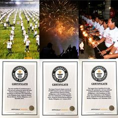 The far eastern sky in the #equator became extra brighter and more jubilant on 2015 #newyeareve .  Around 55,000 members of the #churchofchrist  #iglesianicristo celebrated the #countdownto2016 with a  a #spectacular #fireworks artistry which broke three #guinnessworldrecords Please visit incmedia.org and philippinearena.net
