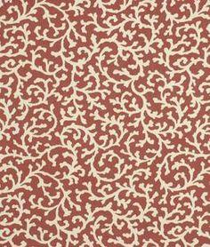 Robert Allen Creeping Vine Tulip Fabric - $25.3 | onlinefabricstore.net