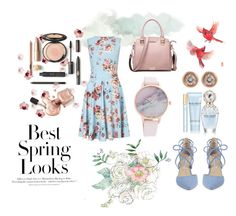 """spring"" by cosmiceyes on Polyvore featuring moda, Miss Selfridge, Kristin Cavallari, Marc Jacobs, Ron Hami y H&M"
