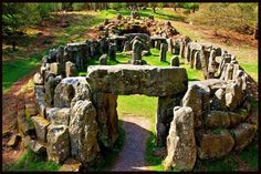 Druid's Temple, North Yorkshire, England