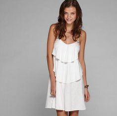 perfect little white sundress