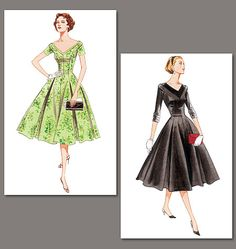 Patron de robe - Vogue 2903