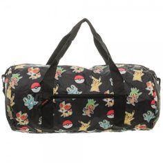 Pokemon: Packable Duffle Bag - HobbyStuf