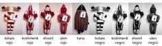 Los Onitas. Chile. Muñecos de género pintados, inspirados en los espíritus Selk'nam, más conocidos como Onas. Cute Friends, Craft Work, Lana, Chile, Stencils, Textiles, Symbols, Dolls, Deco