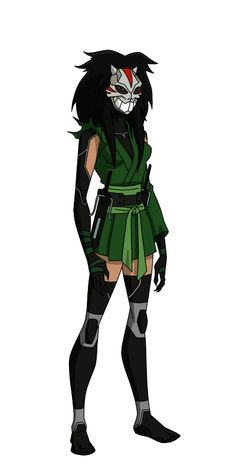 Cheshire (Jade Nguyen) is a fictional character, a antiheroine in the DC Comic universe. Jade was sold into slavery as a child, this trauma drove her insane, and paved her way into becoming one of the world's most ruthless mercenaries. After killing her master Jade became an international terrorist. Often recognized as one of the world's greatest and most ruthless assassins. Her skills include mastery over physical combat, various weaponry, and she is an expert on exotic poisons.