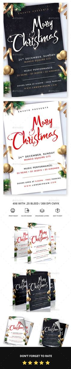 #Christmas #Flyer - Holidays Events