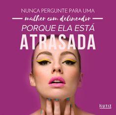 Não é não?  #instaquote #instamood #delineador #eyeliner #gatinho #woman #mulher #make #makeup #lettering #beleza #cabelo #cabelos #cosmetico #cosmeticos #dermato #dermatologia #dermo #dermocosmetico #dermocosmeticos #kutiz #kutizbeaute #kutizcosmeticos #makeup #maquiagem #saude