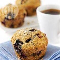 Rezeptbild: Vollkorn Blueberry Muffins
