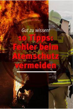 Auch wenn das Ausrüsten zum Atemschutzgeräteträger eigentlich selbstverständlich ist, werden immer wieder Dinge falsch gemacht. 10 Tipps die Dir helfen. Fire Equipment, Firefighter, Movie Posters, Movies, Good To Know, Firefighter Training, Film Poster, Films, Film