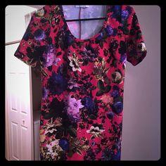 Floral Body-Con Dress