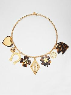 Tory Burch - Charm Necklace -