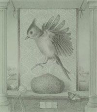 A silverpoint drawing