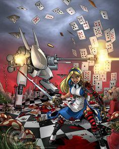 Wonderland Wars by Garth Graham