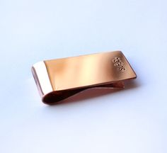 #THANKSDAD: OUR TOP 10 COOLIST FOR FATHER'S DAY- Scott Fraser Solid Copper Money Clip