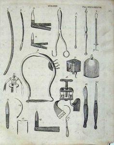 Old tool illustration