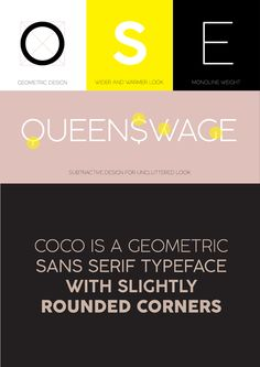 pinterest.com/fra411 #free #font - Coco Gothic Type Family on Behance
