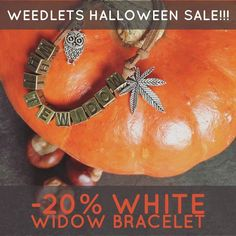 HALLOWEEN SALE   20% OFF ON WHITE WIDOW BRACELETS   Handmade Shop, Etsy Handmade, Handmade Gifts, Halloween Sale, Simple Rules, Etsy Store, Vintage Items, Vintage Outfits, My Etsy Shop
