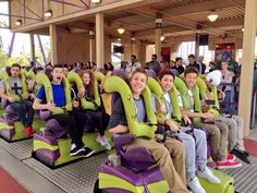 Magcon boys at Six flags!! Mahogany isn't wearing any shoes
