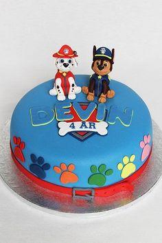 Tortas de Paw Patrol: Decoración de Tortas de Patrulla Canina para Cumpleaños
