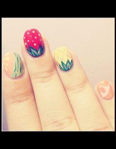 """Vernis : les """"nail artists"""", c'est vous !  Ongles fruits"""