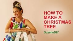 "7 January ""Takealot of this DIY Christmas Special with Suzelle"". Episode How to make a Christmas tree. Christmas In South Africa, Planning Your Day, Beautiful Christmas Trees, Creative People, A Funny, Fairy Lights, How To Plan, How To Make, Christmas Holidays"