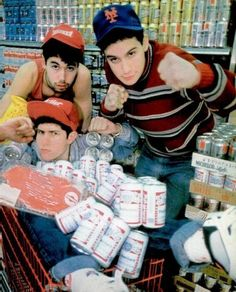 Beastie Boys. ohhhh yeah, snuck out for this one..80's