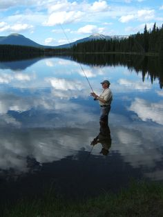 Fishing in the clouds
