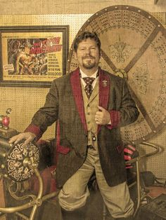 Steampunk Men, Victorian Steampunk, Steampunk Clothing, Steampunk Fashion, Neo Victorian, Just Dream, Dieselpunk, Futuristic, Cosplay Costumes