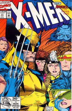 Jim Lee's X-Men. I personally believe this was the second golden age of X-Men Auction your comics on http://www.comicbazaar.co.uk