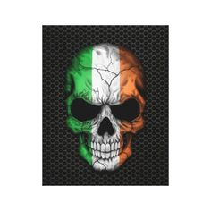 ==>Discount          Irish Flag Skull on Steel Mesh Graphic Stretched Canvas Prints           Irish Flag Skull on Steel Mesh Graphic Stretched Canvas Prints so please read the important details before your purchasing anyway here is the best buyShopping          Irish Flag Skull on Steel Mes...Cleck Hot Deals >>> http://www.zazzle.com/irish_flag_skull_on_steel_mesh_graphic_canvas-192791867255274390?rf=238627982471231924&zbar=1&tc=terrest