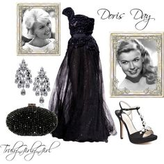 Doris Day, created by trulygirlygirl on Polyvore