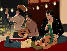 Jason is the only one who approves of Damian with a knife and Tim is like,'' Oh Damn.''