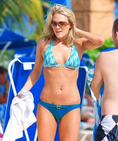 Carrie in a bikini