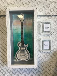 Shop now for High Quality Handmade, Unique, Customizable Guitar and Bass display Cases. Guitar Display Case, Display Cases, Gallery Wall, Frames, Decorating Ideas, Handmade, Home Decor, Cabinets, Hand Made