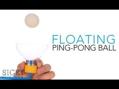 Floating Ping Pong Ball | Science Experiments | Steve Spangler Science