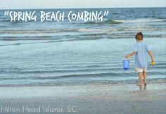 Beach combing tips, Hilton Head Island
