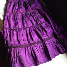 Calypso skirt❤️❤️ Beautiful 100% silk skirt with elastic easy to wear waist. ❤️ Calypso St. Barth Skirts Midi